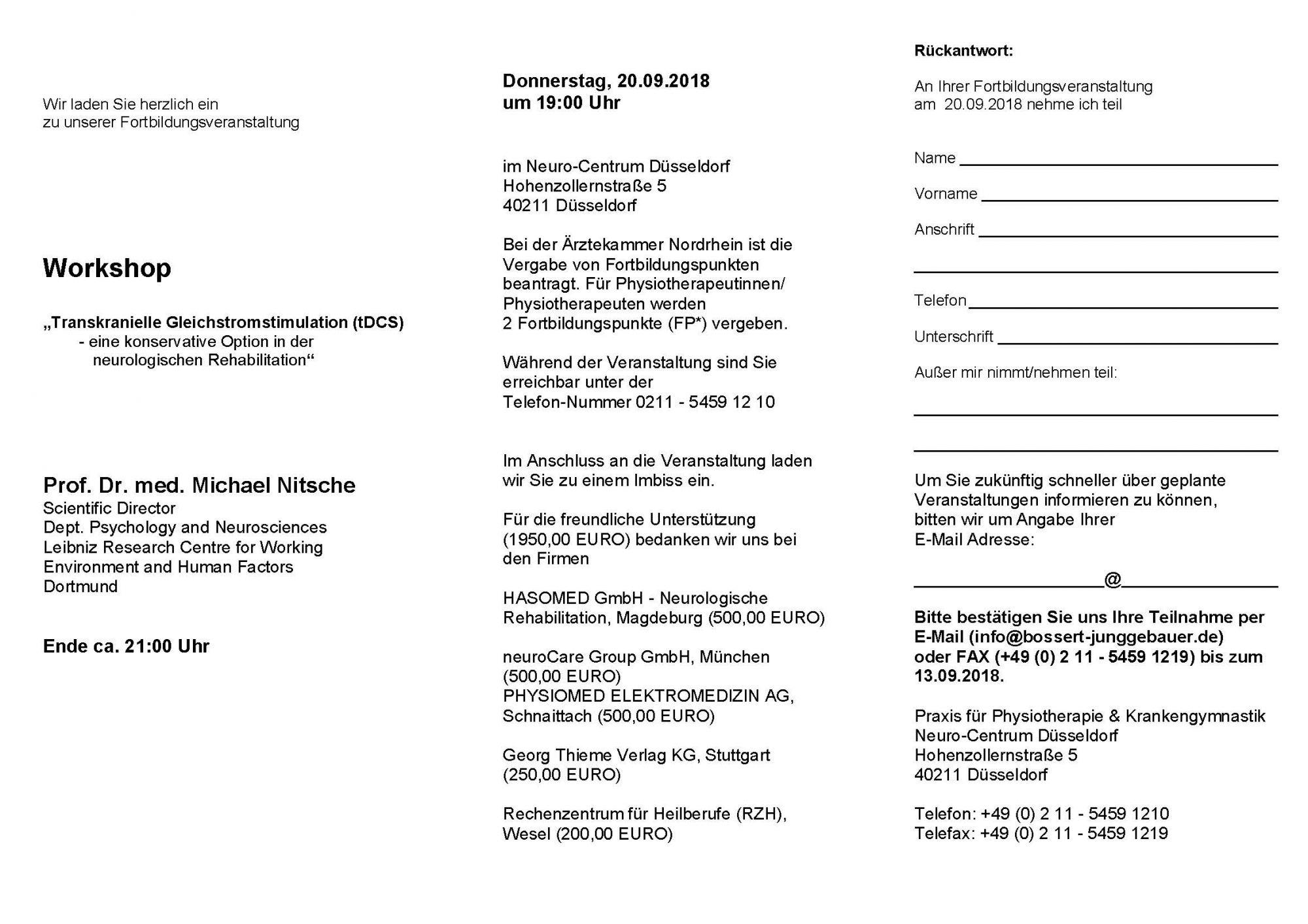 download einladung - Bewerbung Physiotherapie